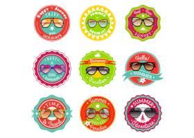 太阳镜夏季促销标签_3817352