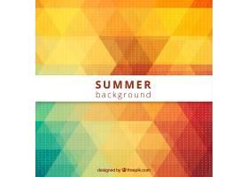 带太阳镜的低聚合度夏季背景_712687