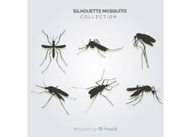 富有创意的蚊子剪影包_3138787