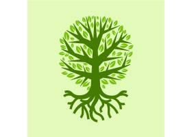 夏日手绘树木生活_10502865