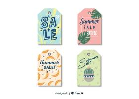 夏季打折标签系列_4647338