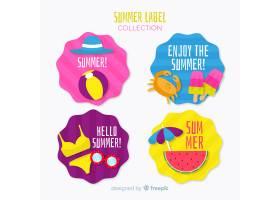 夏季标签系列_4277866