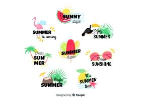 夏季标签系列_4496544