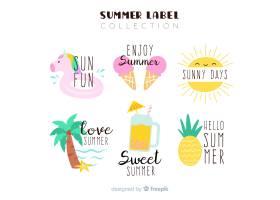 夏季标签系列_4496566