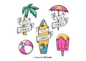 夏季标签系列_4542402