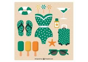 可爱的夏日图标系列_771118