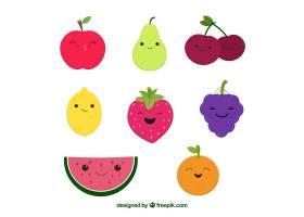 各式各样的滑稽水果_1106057