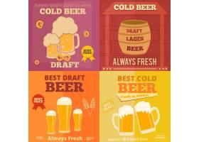 啤酒广告的平面设计_730411