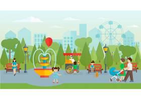 城市公园人性化平面设计_9461779