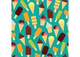 五颜六色的夏日图案_899523