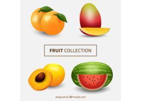 以写实的风格包装异国情调的水果_1113214