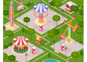 儿童夏季游乐园_5921756