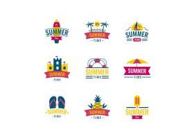 夏季标签设计_8280031