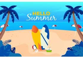 夏季背景概念_8485047