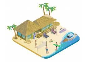 等长夏季海滩度假概念_9515534