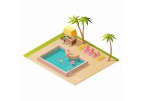 等长室外游泳池_9036035