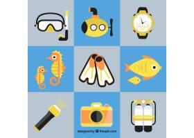 浅谈平面设计中潜水元素的集合_884581