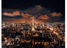 美丽的建筑与东京市容建筑_3717833
