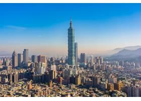 美丽的建筑建筑台北市_3798278