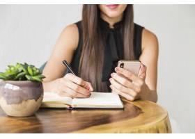 女商人在电话里写信_5055397