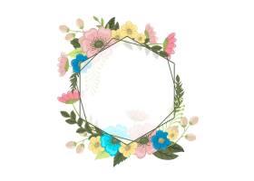 花框五颜六色的花朵_3032325