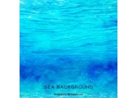水彩画海洋背景_853935