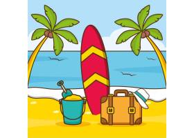 海滩度假_4695640