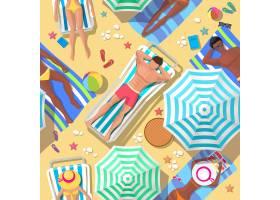 海滩度假天衣无缝的格局休闲避暑旅游睡_10703972