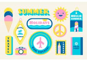 暑假期间的贴纸收藏_6271184