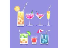 平面设计鸡尾酒系列_9009756