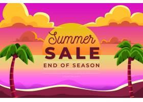 季末夏季促销概念_9446172