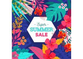 季节性夏季促销风格_8278811