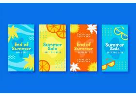 季末夏季促销Instagram故事包_9266661