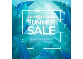 季末夏季促销概念_9281751