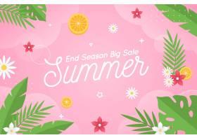 季末夏季促销概念_9373654