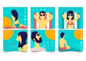 夏日卡片收藏设计_8278789
