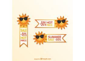 夏季动画片销售标签_715577