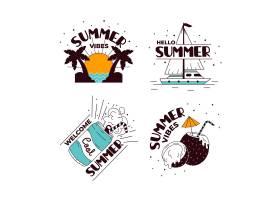 夏季徽章系列_8422616