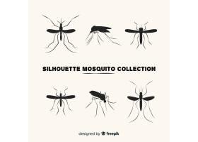 创意收集蚊子剪影_3138786