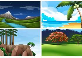 一组自然景观_4344968