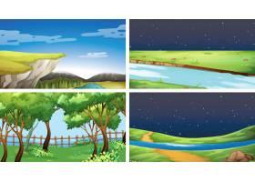 一组自然景观_4805796