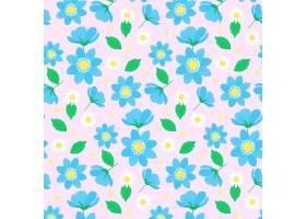 五颜六色的花卉图案主题_9211120