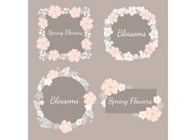 五颜六色的花卉套装_3759038
