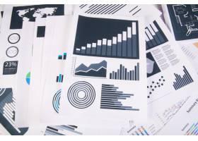 商业报告图表和图表经营理念_1275510