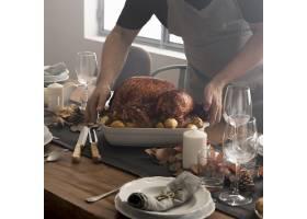 感恩节特写食物_9546354