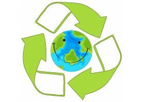 循环利用绿色地球_4564423