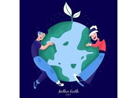 人们拥抱绿色地球_7004884