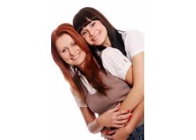 两个年轻漂亮的姐妹_6285911