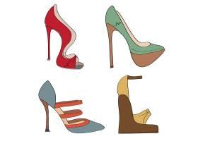 高跟鞋插图_1121855