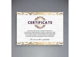 专业证书模板设计_3047064